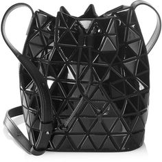 Bao Bao Issey Miyake Lander Small Bucket Bag (9.030 DKK) ❤ liked on Polyvore featuring bags, handbags, shoulder bags, shoulder handbags, bao bao by issey miyake, handbags shoulder bags, handbag purse and drawstring purse