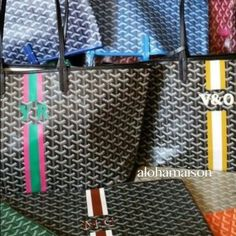 Goyard St Louis Gm Custom Customization Bags Totes Tote Handbags