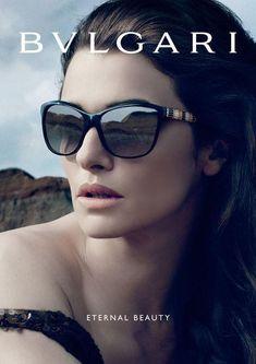 Rachel Weisz for Bulgari Eyewear Spring Summer 2013.