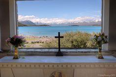 Church of the Good Shepherd on Lake Tekapo, New Zealand