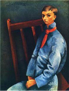 Moïse Kisling (Polish: 1891-1953)   not identified