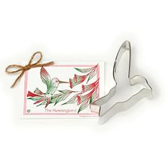 Ann Clark Hummingbird Cookie Cutter - 5.6 Inches - Tin Plated Steel Ann Clark Cookie Cutters http://www.amazon.com/dp/B003RBCTN0/ref=cm_sw_r_pi_dp_Kgr9wb0YKW9TM