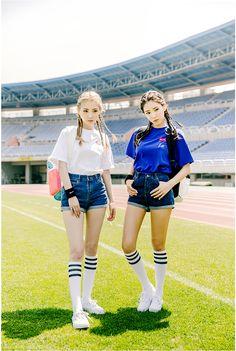 M&M T-Shirts  | Korean Fashion # CHUU