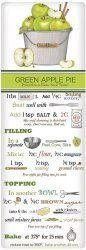 Green Apple Pie Recipe Towel