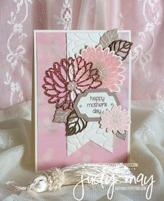 Stampin' Up! Special Reason for Mother's Day - Judy May, Just Judy Designs for CASE-ing the Catty