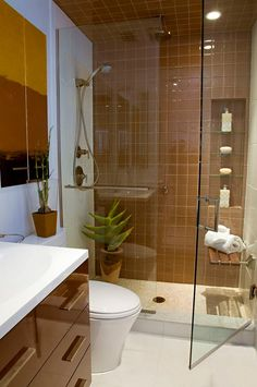 Image result for brown white bathroom