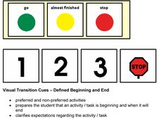 Defined beginning and end. Repinned by www.preschoolspeechie.com