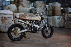 Honda XR 600 Street Tracker by 66 Motorcycles