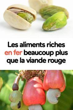 les aliments riches en fer beaucoup plus que la viande rouge Nutrition, Home Remedies, Cucumber, Detox, Beauty Hacks, Medical, Vegan, Vegetables, Healthy