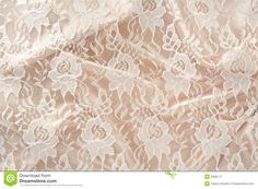Satin Lace Stock Image