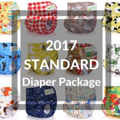 2017 STANDARD - All your baby really needs! (Ideal for newborn to potty training)