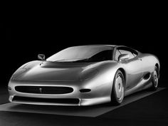 Jaguar XJ220 Concept HD-unveiled to the public in 1988!