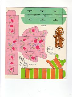 Paper Doll House, Paper Houses, Origami, Christmas Paper Crafts, Christmas Stuff, Bobe, Paper Animals, Doll Furniture, Paper Furniture