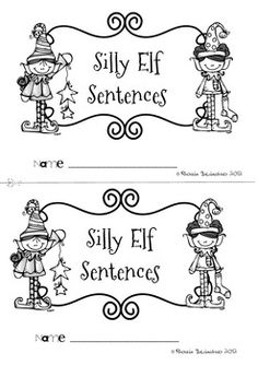 Unscrambling the Magic Elf sentences will help your