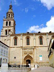 Medina de Rioseco: Igleisa de Santa María de Mediavilla. Llaman a esta ciuda 'la de las 4 catedrales' porque sus iglesias tienen el empaque de auténticas catedrales.
