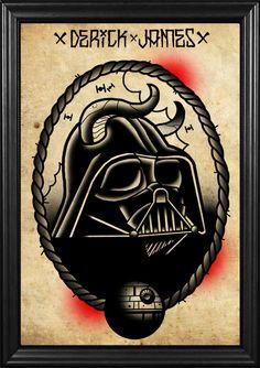 Tattoo Flash de Star Wars y super heroes | Joia Magazine