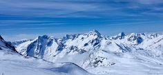 The ski resort of 2 Alpes in France last winter