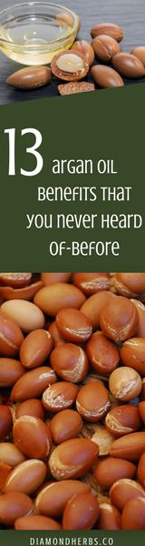 Argan Oil Benefits ranging from natural skin moisturizer to healthy, long shiny hair