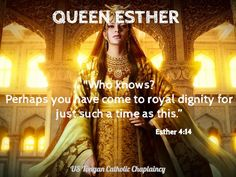 Esther 4:14 Esther 4 14, Book Of Esther, Queen Esther, Bible Quotes, Me Quotes, Hebrew Names, Boss Babe, Catholic, Believe