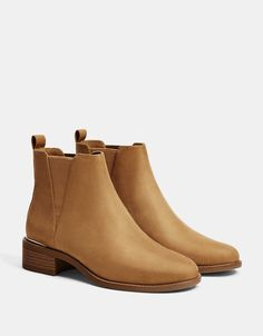 76cbef3bf3fdc Stretch ankle boots with metallic detail. Discover this and many more items  in Bershka with
