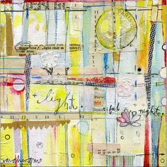 mixed media - Sarah Ahearn