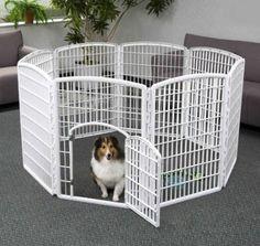 for bunnies Amazon.com: Iris CI-908 Indoor/Outdoor Plastic Pet Pen, 8 Panels: Pet Supplies