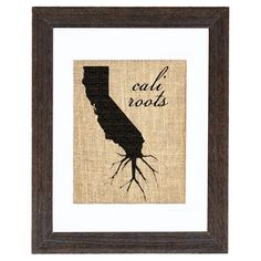 Check out this item at One Kings Lane! Cali Roots, Wyo Shoots ? haha!