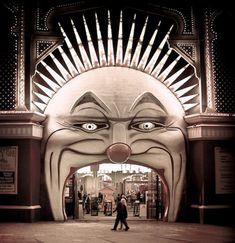 Luna Park, Australia's earliest amusement park, was the brainchild of the Greater JD Williams Company and the Phillips brothers of the United States. Construction began in 1912 and, after 1913, the Phillips brothers ran this unique complex for the next forty years.