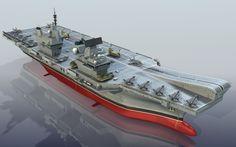 Lowpoly model HMS Queen Elizabeth R08