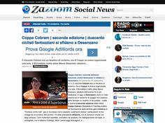 Coppa Cobram - ULTIMA-ORA.ZAZOON.IT - Coppa Cobram, seconda edizione: duecento ciclisti fantozziani si sfidano a Desenzano