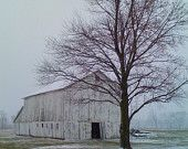 looks like our barn..right down to the tree in the yard. weird...