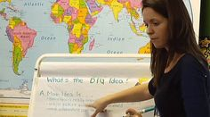 Check out this classroom video on Teaching Channel. Teaching Channel is a video showcase-on the Web and TV-of inspiring teaching practices in America's public schools. MAIN IDEA beautifully done