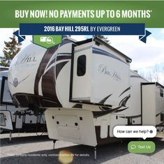 Bay Hill, Used Rvs, Car Detailing, Evergreen, 6 Months, Recreational Vehicles, Ontario, Showroom, Buy Now