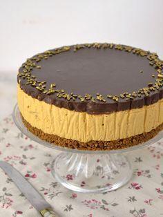 Tarta mousse de dulce de leche receta Just Cakes, Cakes And More, Cheesecake Recipes, Dessert Recipes, Mousse Cake, Sweet Tarts, Pastry Cake, Pastry Recipes, Tostadas