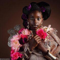 Beautiful Black Girl, Black Girl Art, Black Women Art, Black Girls Rock, Black Kids, Black Girl Magic, Black Art, Black Babies, African Princess