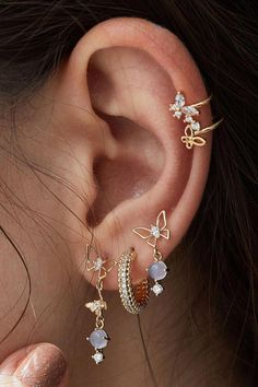 1 pair of black fake plug in different sizes earring fake plugs helix ear piercing stainless steel men ear stud earrings men jewerly - Custom Jewelry Ideas Ear Jewelry, Cute Jewelry, Body Jewelry, Jewelery, Jewelry Accessories, Jewelry Box, Jewelry Armoire, Jewelry Ideas, Jewelry Stores