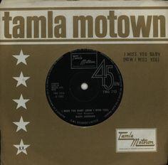 """Marv Johnson I Miss You Baby (How I Miss You) 7"""" vinyl single (7 inch record) UK MVJ07IM614226"""