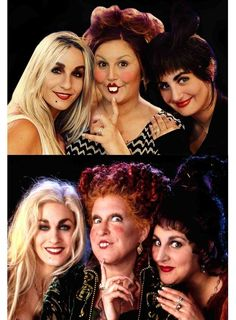 These childhood favorite Sanderson Sisters. | 24 Halloween Costumes That Will Make You Do A Double Take