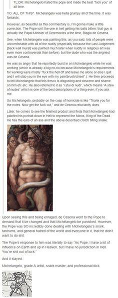 Michelangelo: King of the Dicks Part 2