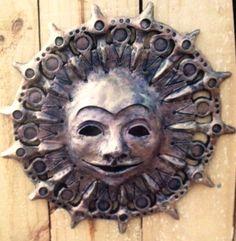Sun mask; artist, glenda coley