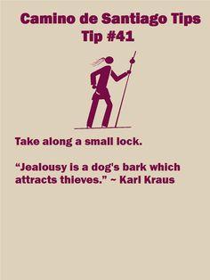 Camino Tips 41