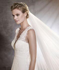 Pronovias > ODILIA - Ibiza-style, flared wedding dress