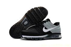 Nike Air Max 2017 Men Black Grey KPU Shoes