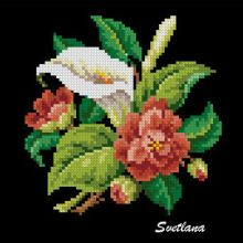 Crewel Embroidery, Cross Stitch Embroidery, Cross Stitch Patterns, Cross Stitch Rose, Cross Stitch Flowers, Small White Flowers, Handbag Patterns, Vintage Birds, Cross Stitching