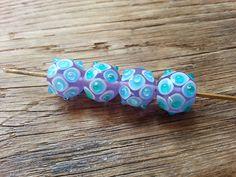 Tuaiwi+sada+1+Sada+4+vlastnoručně+vinutých+perel+z+českého+skla.+Velikost+perel+je+15x13mm+-+průvlek+1,5mm.