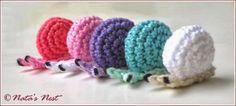 Amigurumi Little Snails - Tutorial ❥ 4U // hf