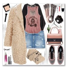 """""""#Winter6"""" by paulette833 ❤ liked on Polyvore featuring ZOHARA, H&M, Bickley + MItchell, MANGO, Givenchy, Elizabeth and James, Karl Lagerfeld and Lucky Brand"""