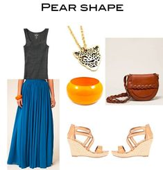 Tall and pear shaped outfit.