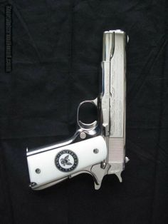Every Navy Service Member's Dream. This is a genuine factory-made Colt from the early 1970's produced to honor those who have served in our U.S. Navy. It commemorates Pacific theater in World War II. This Special Edition Colt 1911 has been stored in a gun vault for over 40 years. It has never been fired, but is a fully-functional .45ACP pistol.