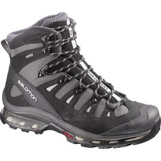 Quest 4D 2 GTX Hiking Boots: A progressive design that borrows comfortable concepts from Salomon® trail-runners and works them into a rugged boot built for challenging terrain. The result is ideal fo